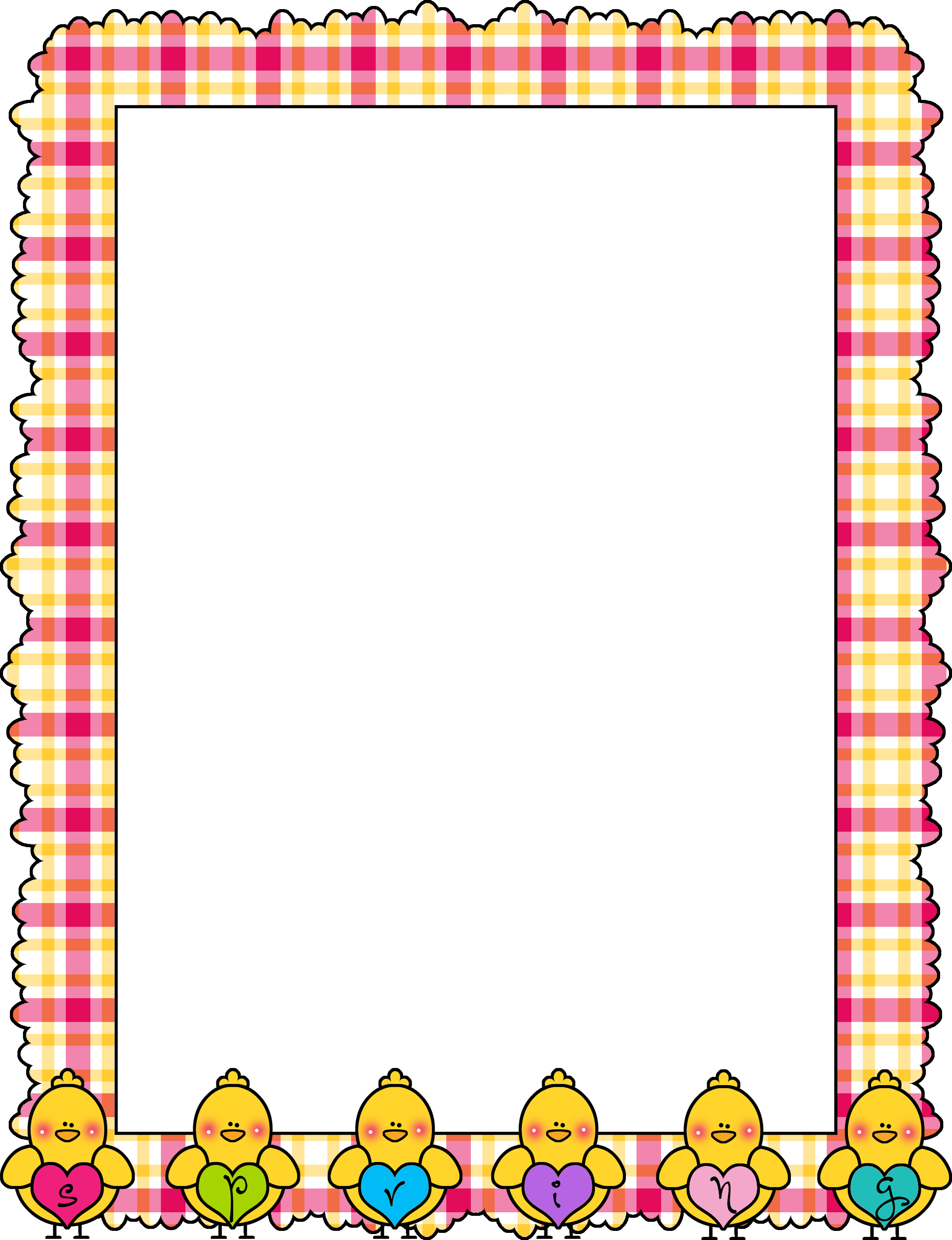 School clip frame design. Marcos borders