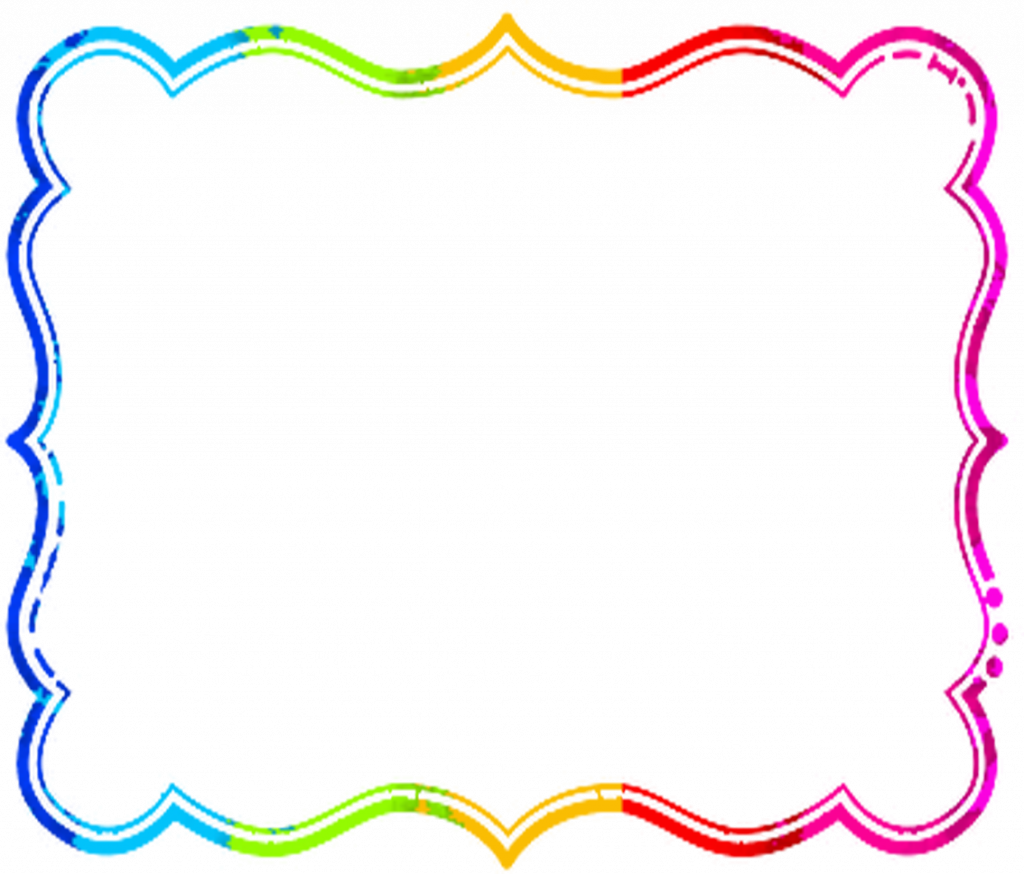 School clip frame design. Clipart borders huge