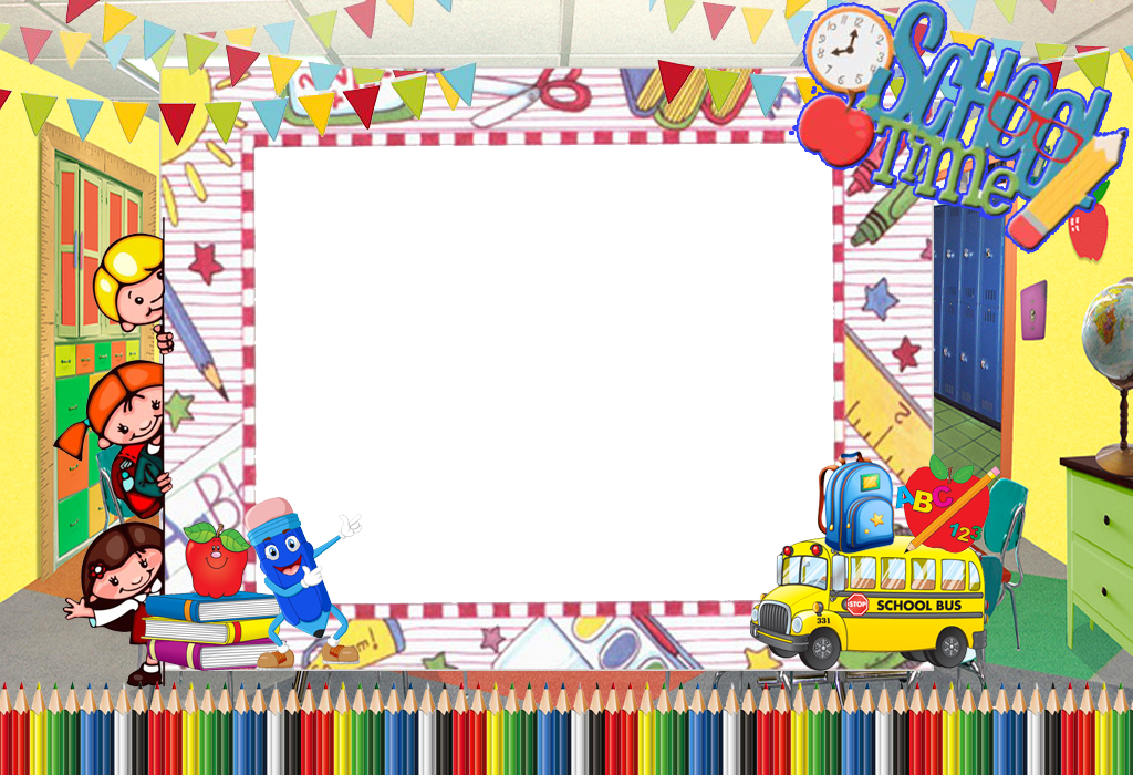School frame png. Time by writerfairy on