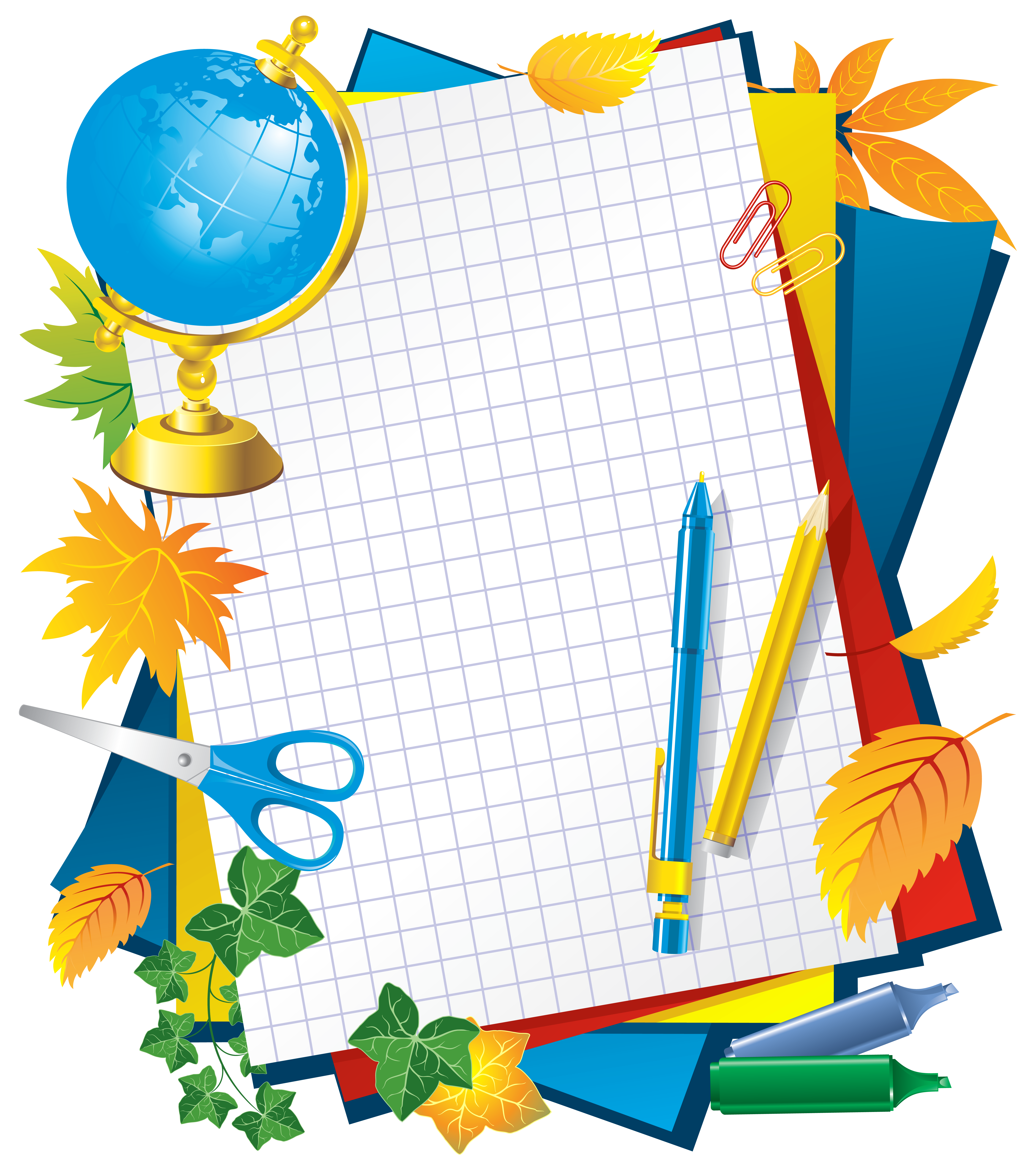 School frame png. Decors picture gallery yopriceville
