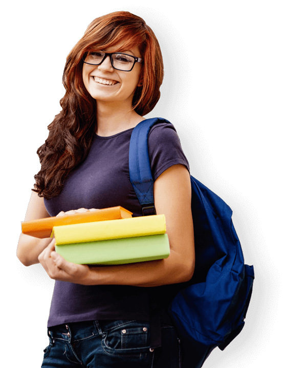 School girl png. Student s image purepng