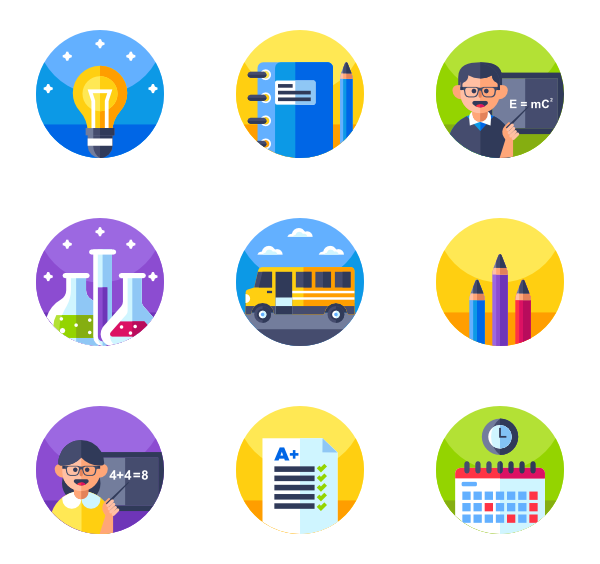 School icons png. Icon packs vector