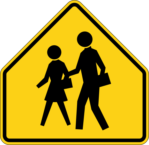 School sign png. Limpertinence traffic signs safe