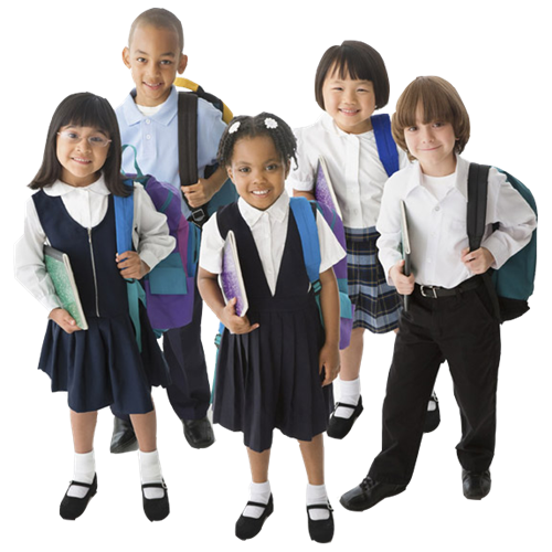 School student png. Uniforms optional in order