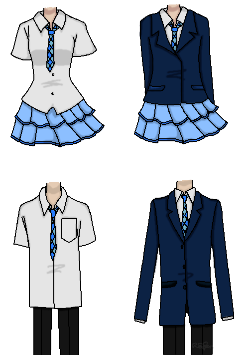School uniform png. In or out a
