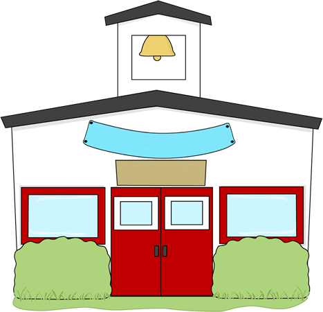 schoolhouse vector gedung