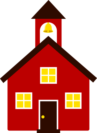 schoolhouse vector drawn