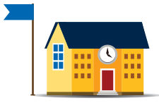 Schoolhouse vector. School house icons png