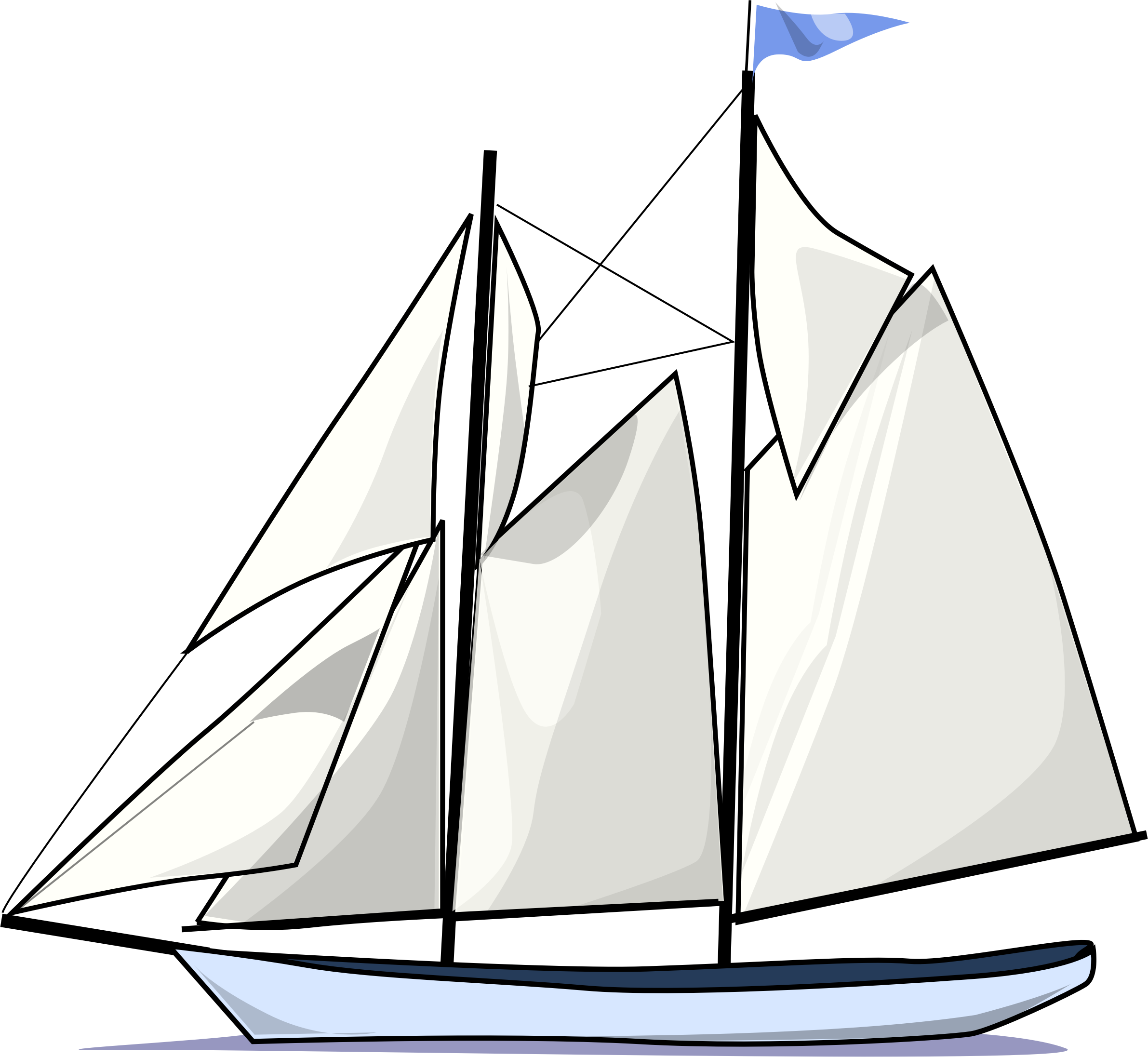 schooner drawing malabar