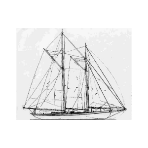 Schooner drawing malabar. The family wraith of