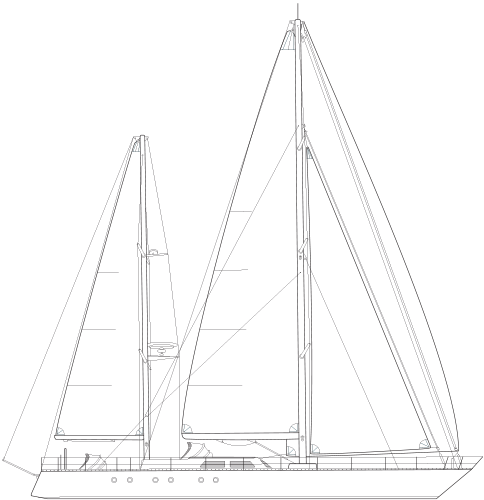 Schooner Drawing Malabar Transparent Clipart Free Download