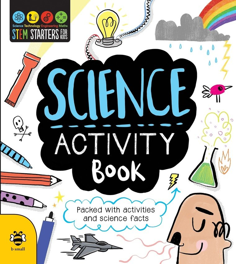 Science clipart science book. Activity stem