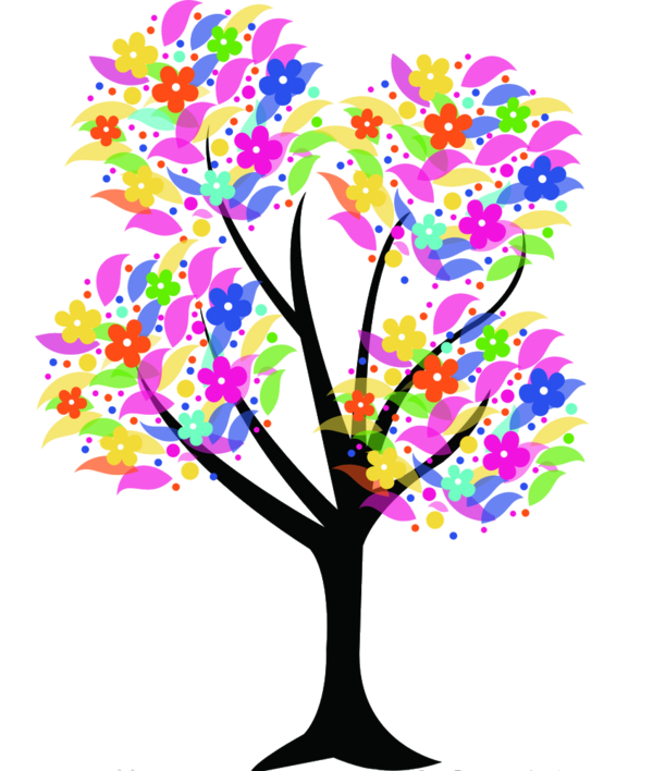 Science clipart tree. Arbre tubes png birthday