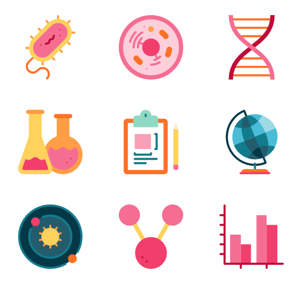 Biology icons free scientific. Vector laboratory png transparent