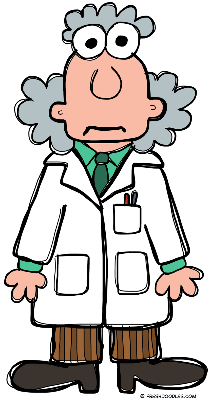 Scientist clipart. Panda free images info