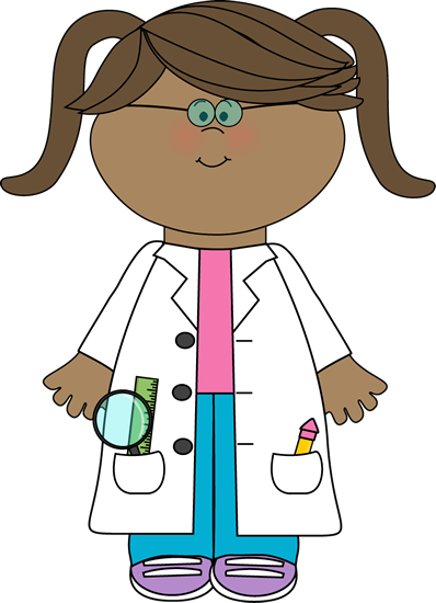 Woman clipart science. Clip art images little