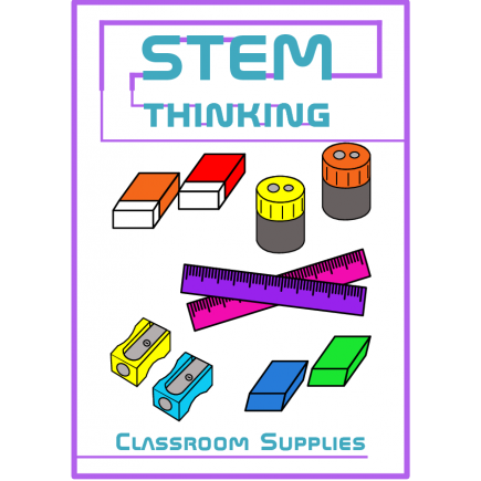 Sharpener clipart stationary. Rulers erasers and sharpeners