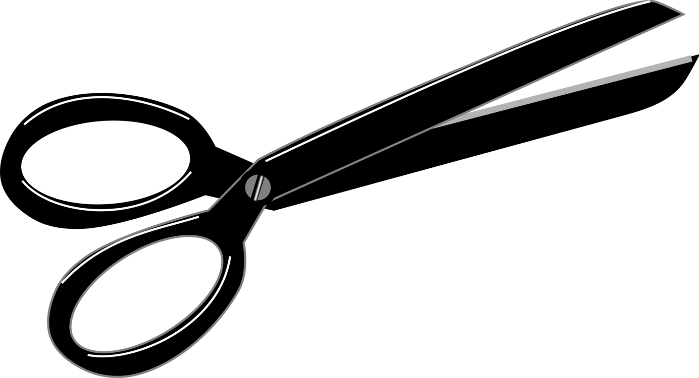 Shears drawing animated. Hair cutting cartoon scissors