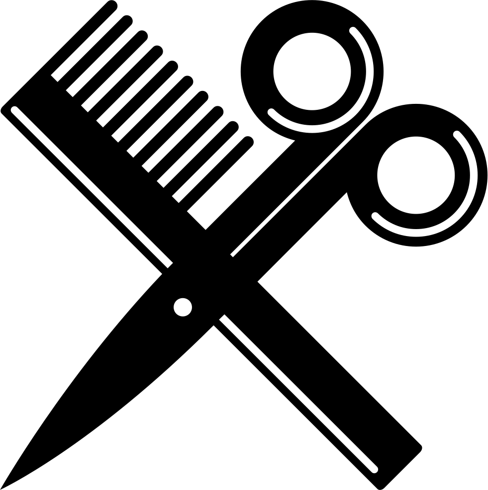 scissor svg salon