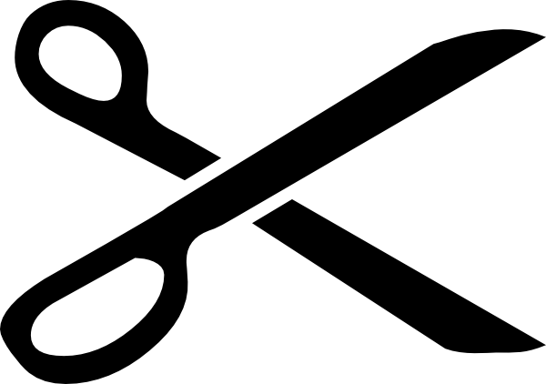 Scissor svg icon