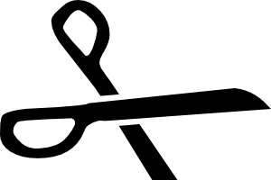clip coupon clipart black and white
