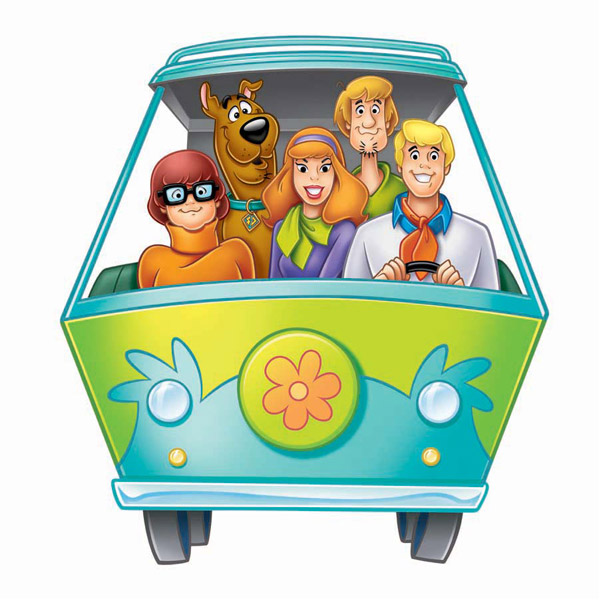 Scooby doo clipart mystery team. Machine screenshots images and