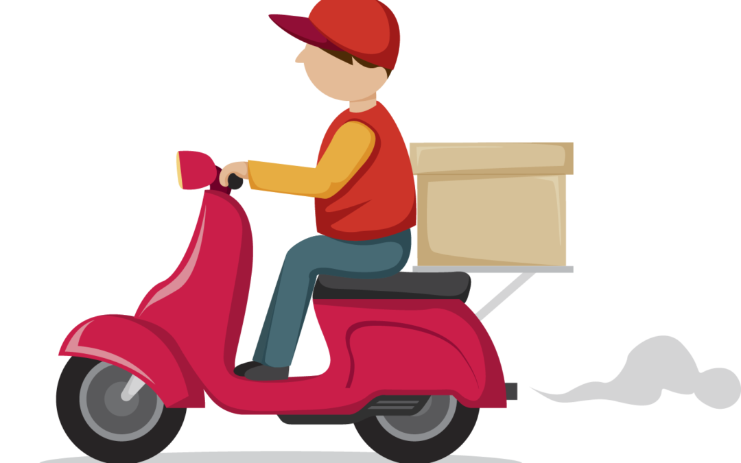 Scooter clipart delivery scooter. Clip arts for free