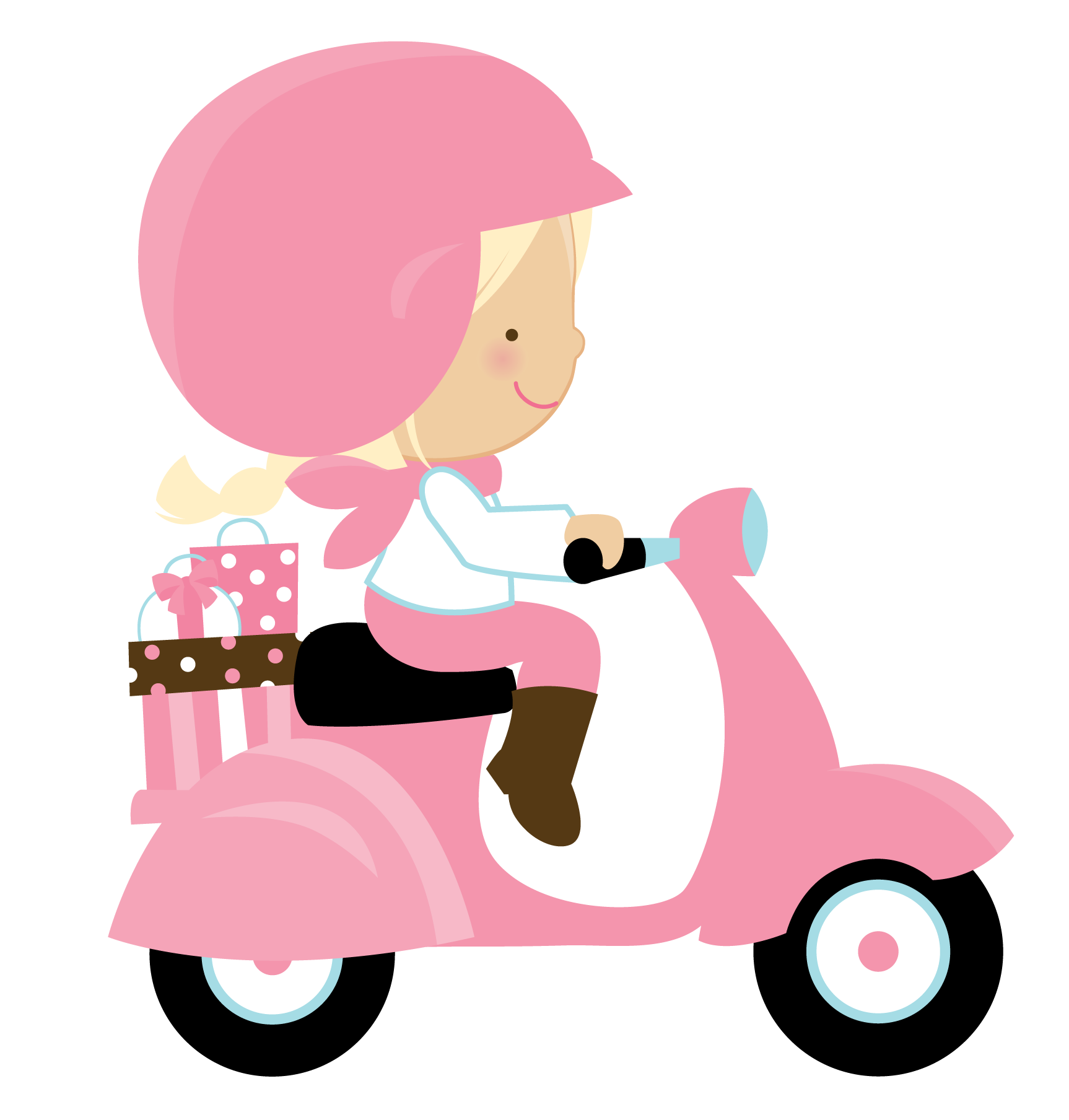 Scooter clipart pink scooter. X dumielauxepices net