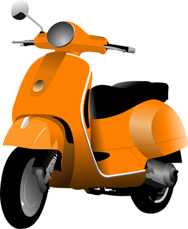 Scooter vector cute