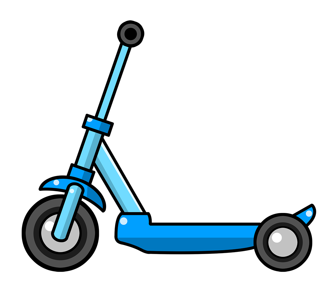 Small scooter