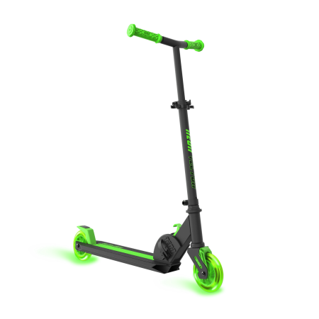 Scooter vector kick. Neon vybe green for
