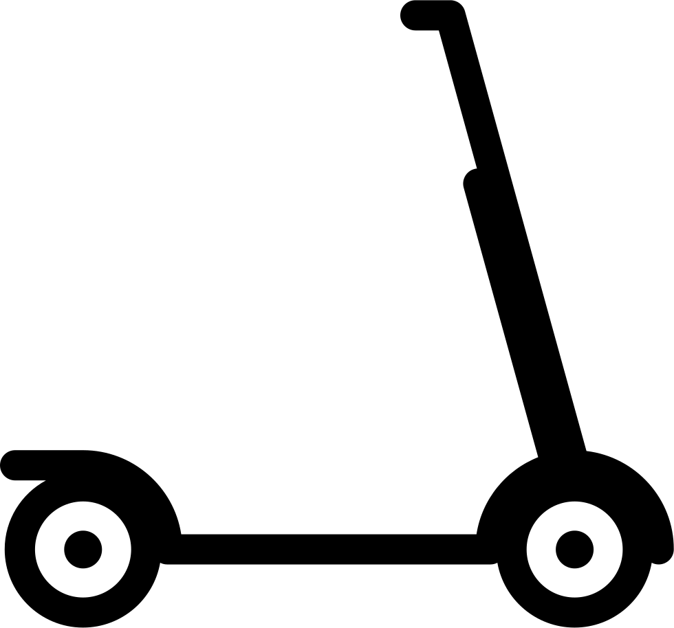 Scooter vector kick. Svg png icon free