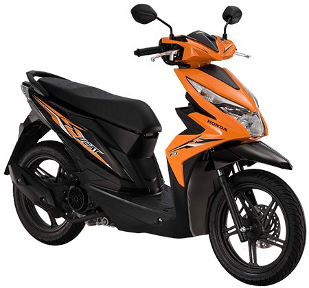 Scooter vector mio. The all new beat