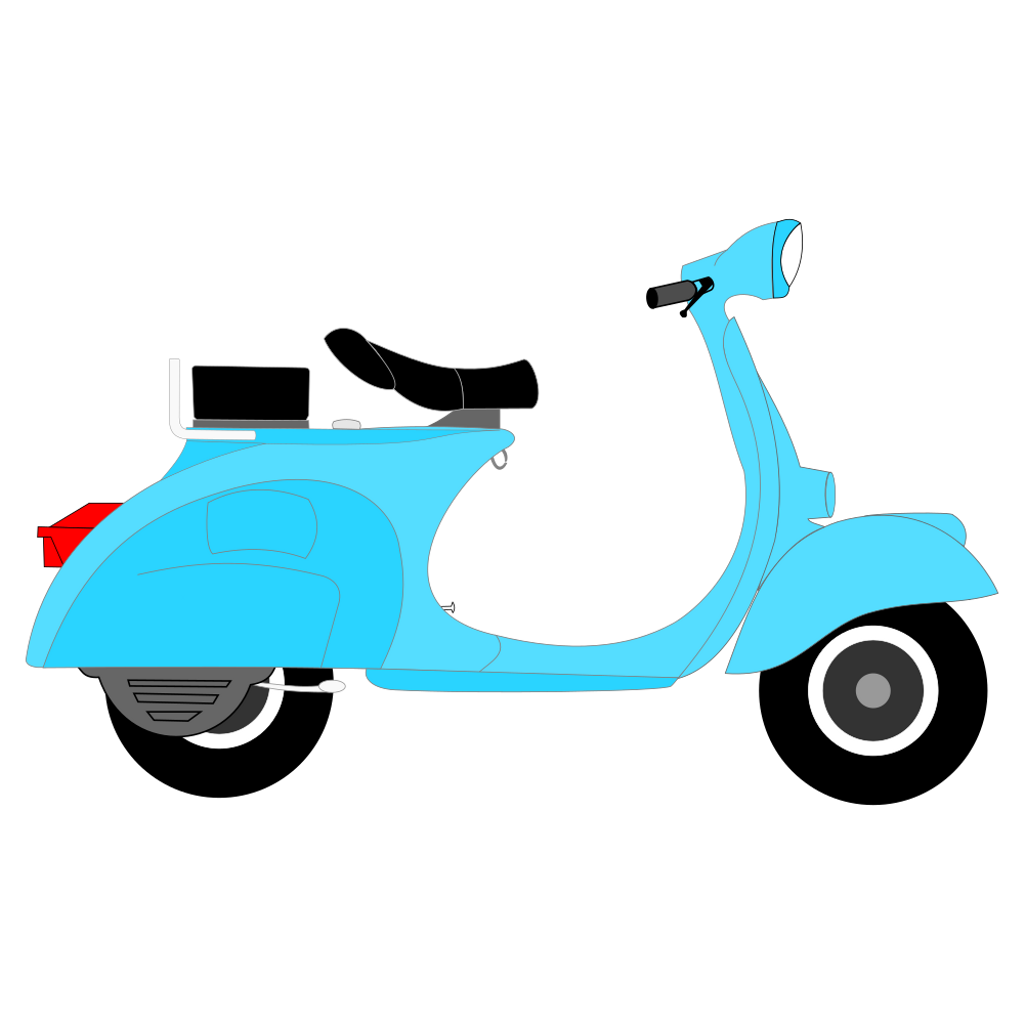 Scooter vector modern. Ftestickers drawing sticker by