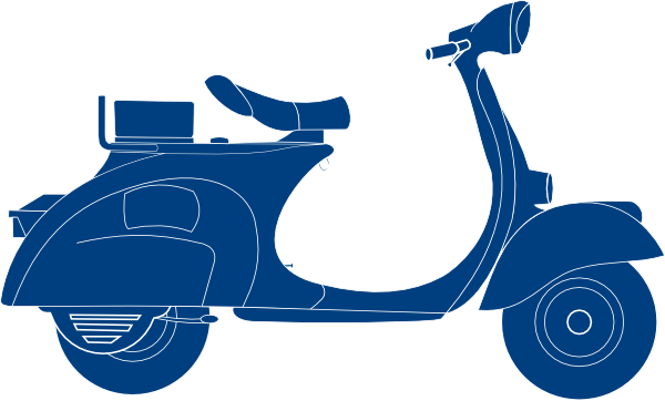 Scooter vector moped. Clipart at getdrawings com