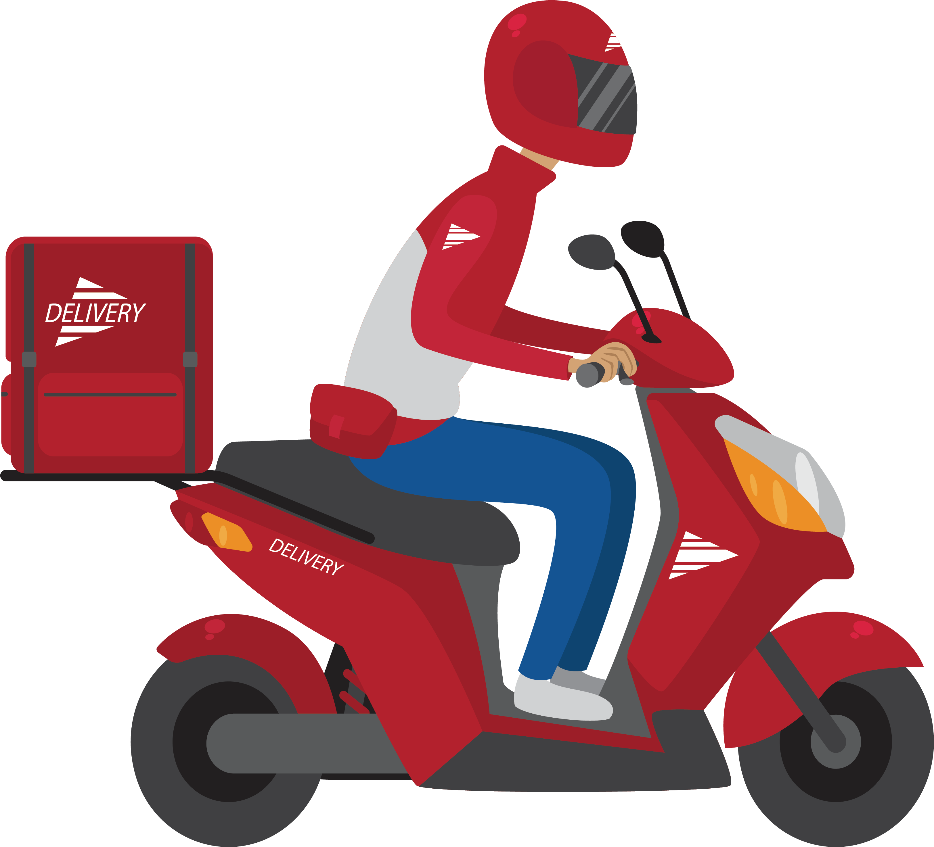 Scooter clipart delivery scooter. Take out adobe illustrator