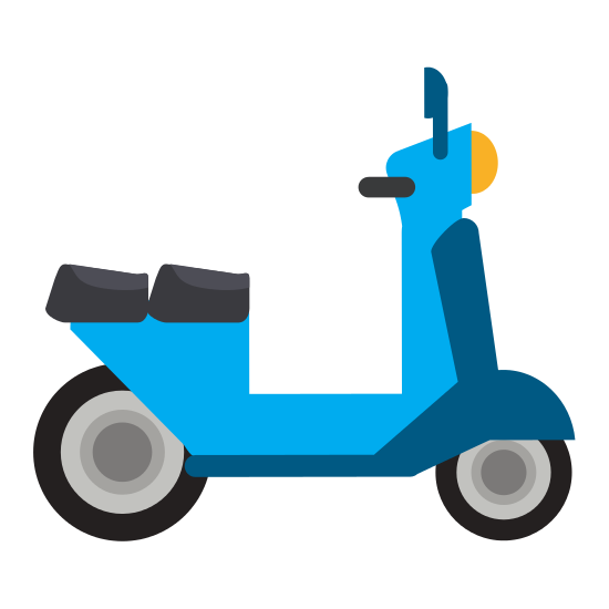 Scooter vector retro. Icon icons by canva