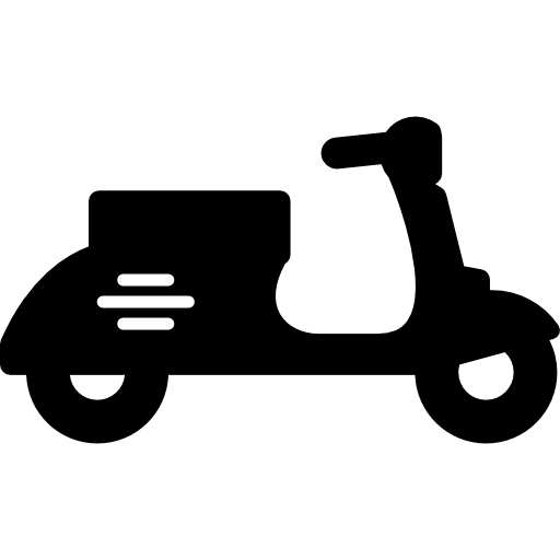 Scooter vector old. Icons free download demo