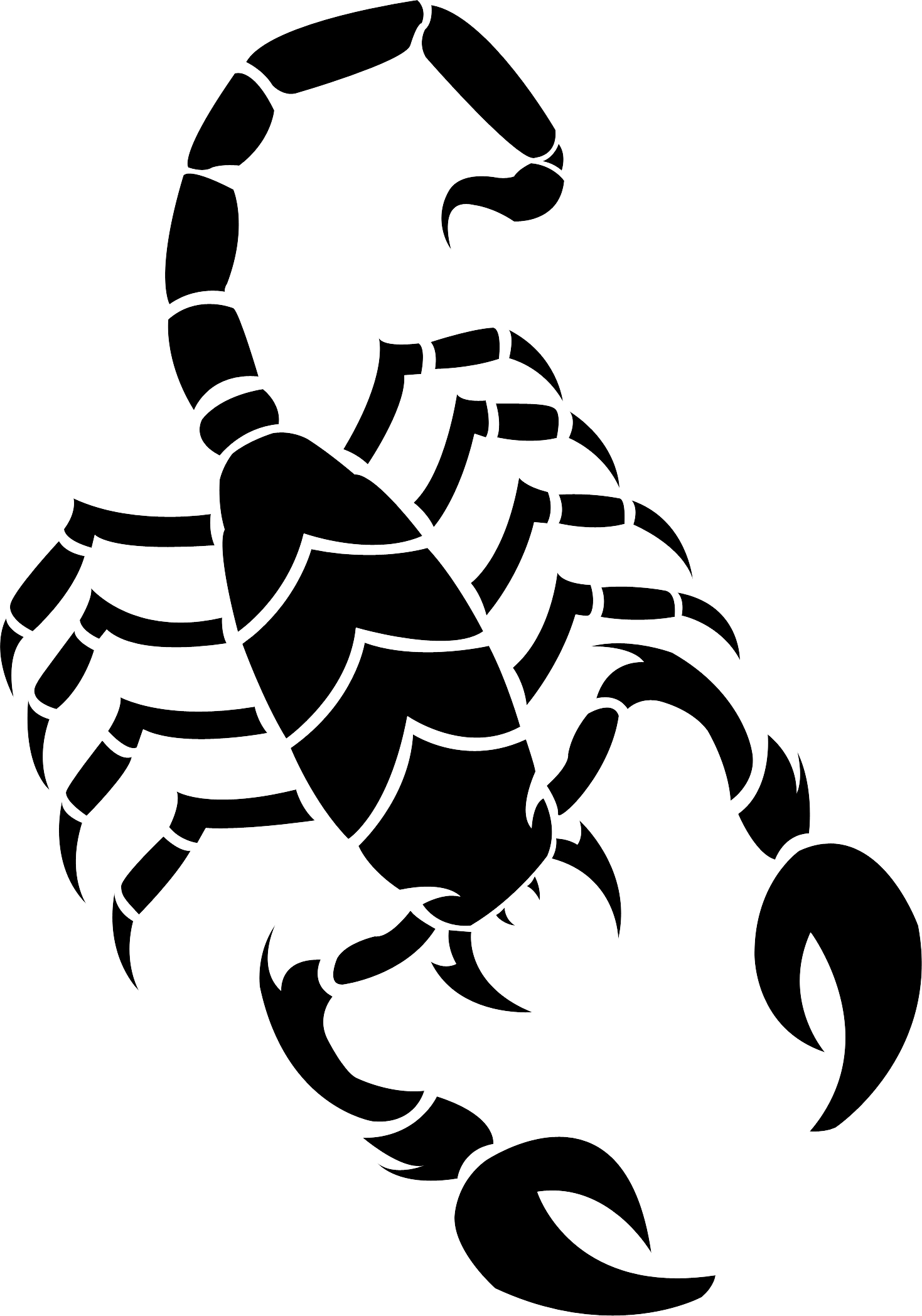 Scorpion tattoo png. Scorpions images silhouette