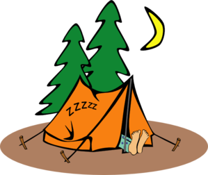Scout campsite . Campfire clipart boy jpg free download