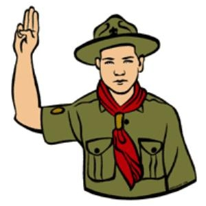 Scout clipart scout sign. Smart scouting hub motto