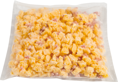 Scrambled eggs png. W bacon dava foods