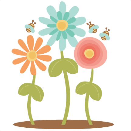 Scrapbook clipart. Flower clip art arts