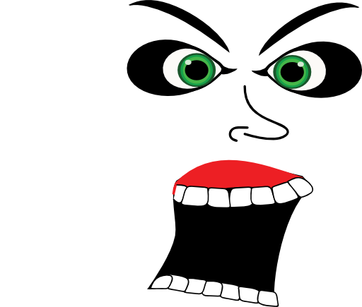 Free scream cliparts download. Yell clipart screaming picture library stock