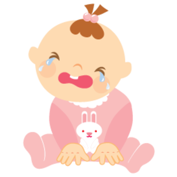 Baby clipart look at. Girl crying png freeuse library