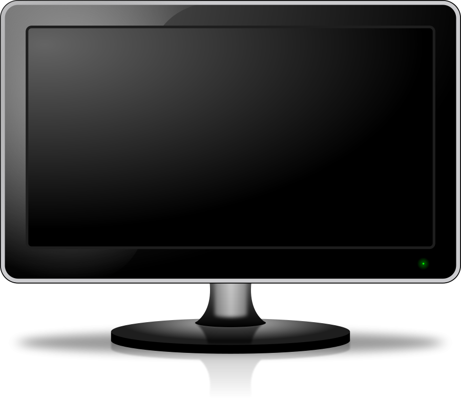 screen clipart computer monitor