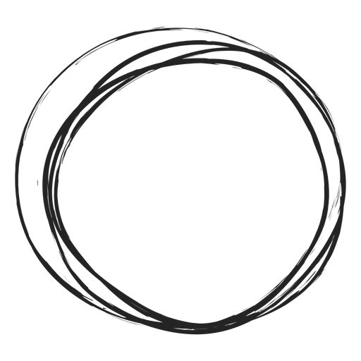 Circle png thin. Scribble transparent svg vector
