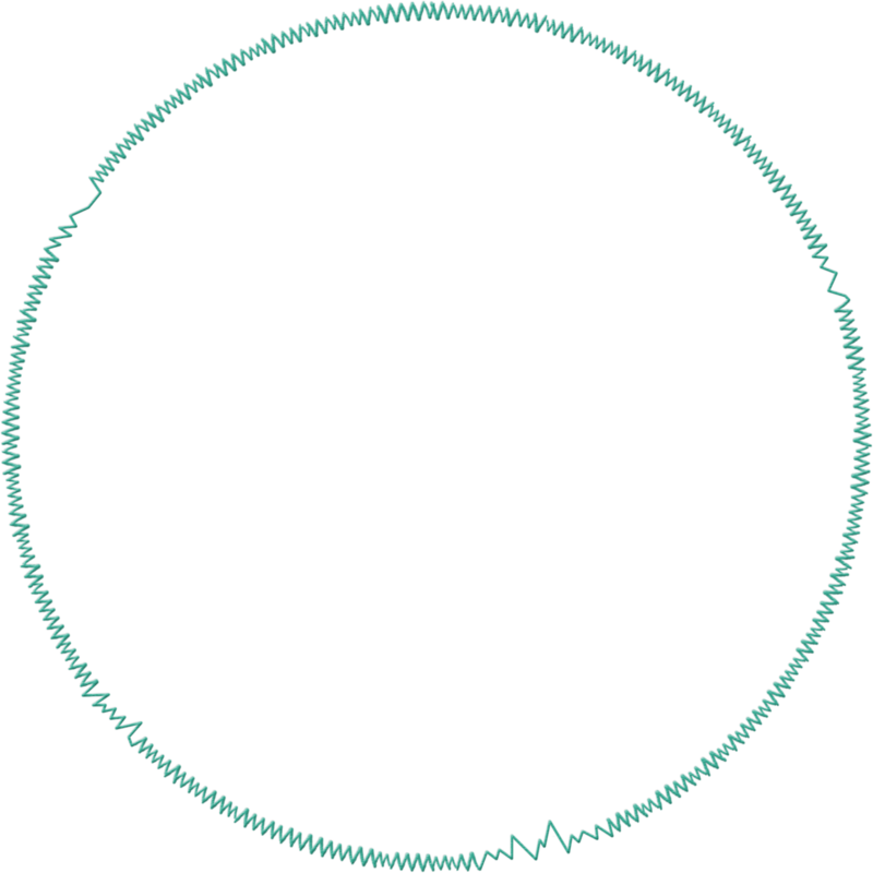 Scribble circle png. Treed bsm set teal