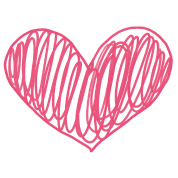 Scribble heart png. Phone case baby lap