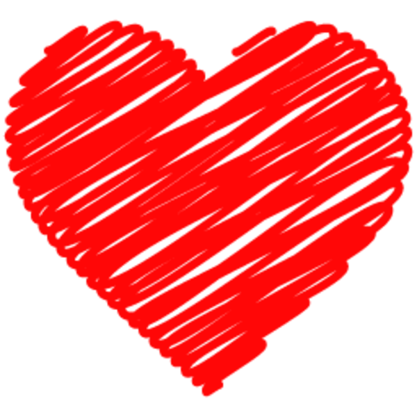Scribble heart png. Doodle free images at